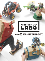 Alle Infos zu Nintendo Labo: Toy-Con 03: Fahrzeug-Set (Switch)
