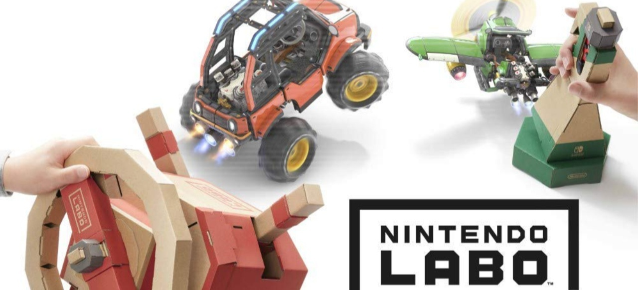 Nintendo Labo: Toy-Con 03: Fahrzeug-Set () von Nintendo