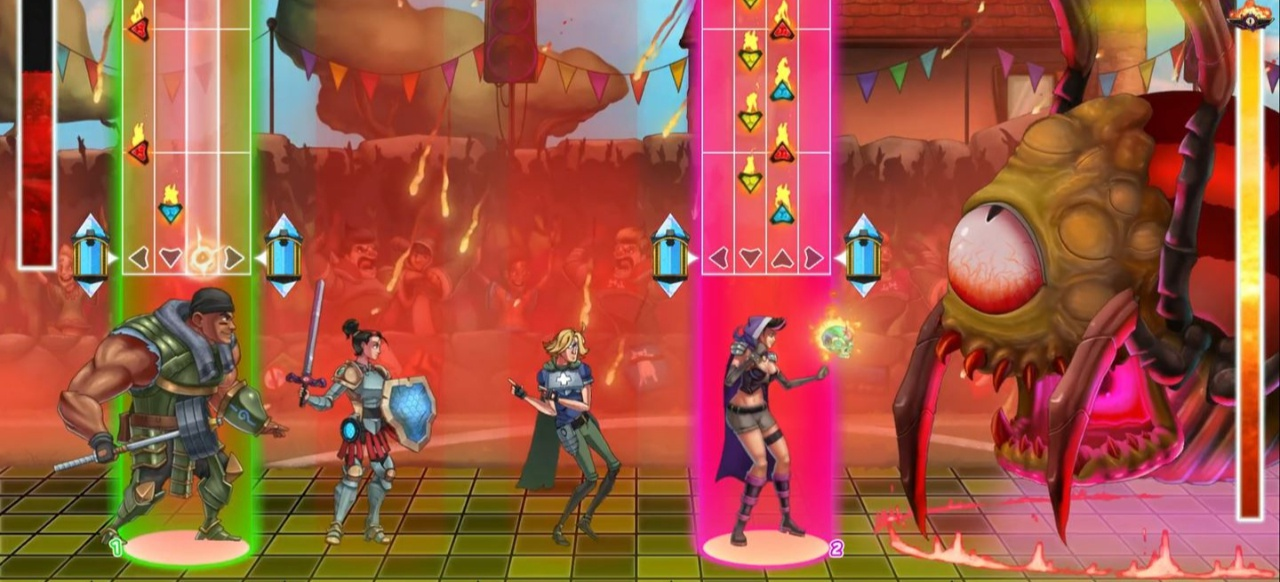 The Metronomicon: Slay the Dancefloor (Geschicklichkeit) von Akupara Games
