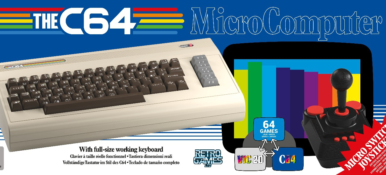 The C64 Fullsize (Hardware) von Koch Media