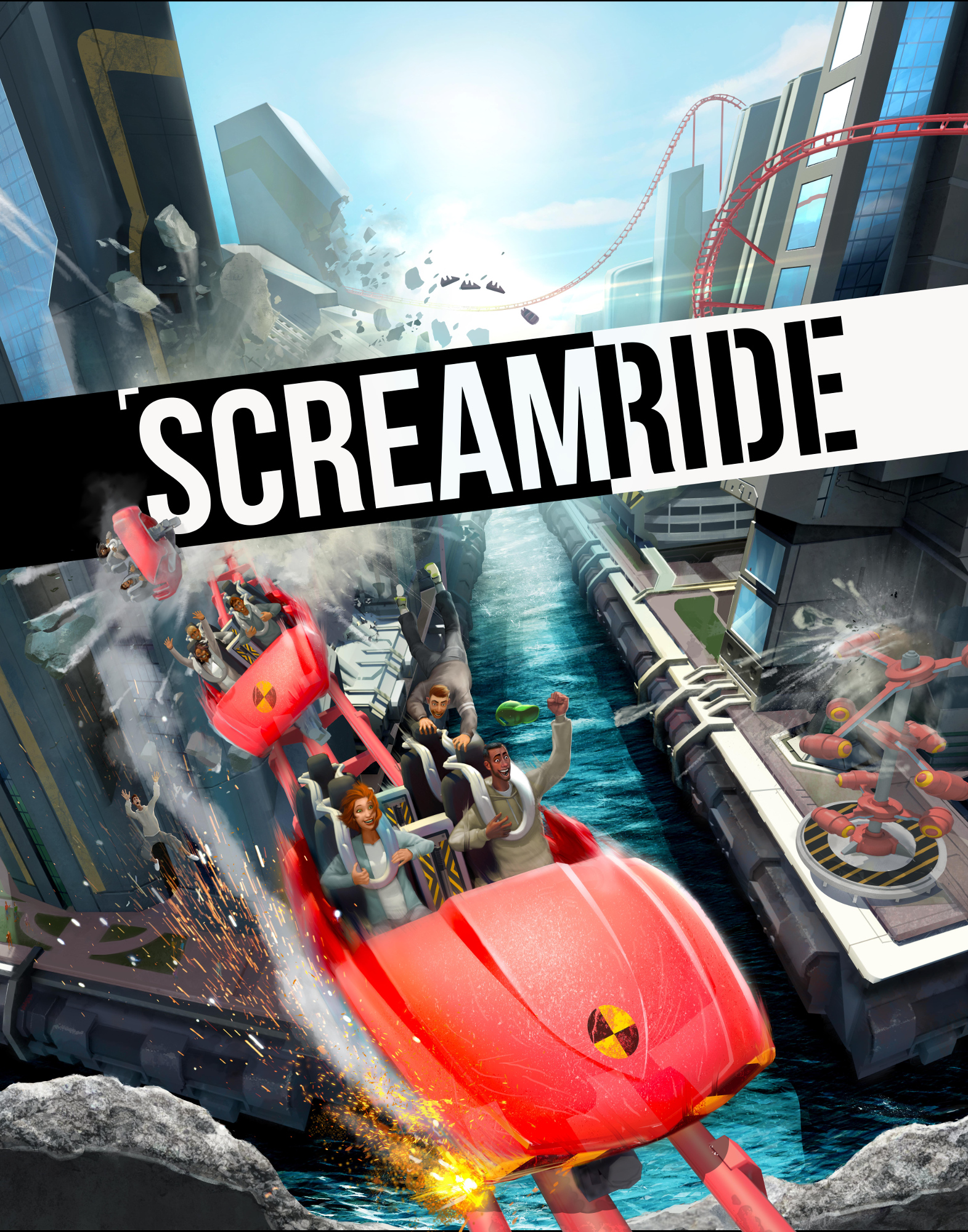 Alle Infos zu ScreamRide (XboxOne)