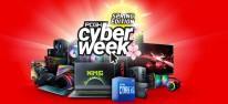 Computec Cyber Week: Anzeige: Finale, u.a. mit Highlights von Agando, Captiva, Creative, Dell, HMA, OCulus, PImax, Samsung TFTs, Seagate sowie Sennheiser