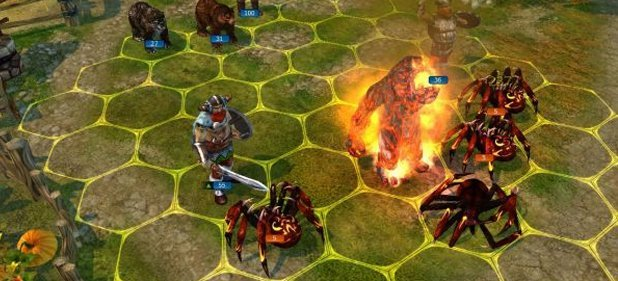 King's Bounty: Warriors of the North (Strategie) von 1C Company / dtp entertainment