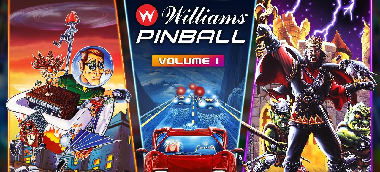 Williams Pinball: Volume 1 (Geschicklichkeit) von Zen Studios