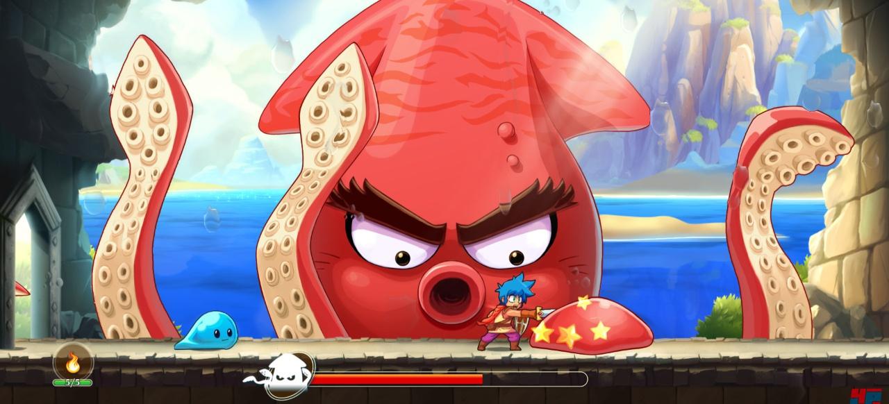 Monster Boy und das Verfluchte Königreich (Action-Adventure) von FDG Entertainment