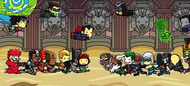 Scribblenauts Unmasked: A DC Comics Adventure (Geschicklichkeit) von Warners Bros. / Nintendo