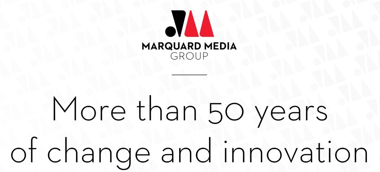Marquard Media Group (Unternehmen) von Marquard Media Group