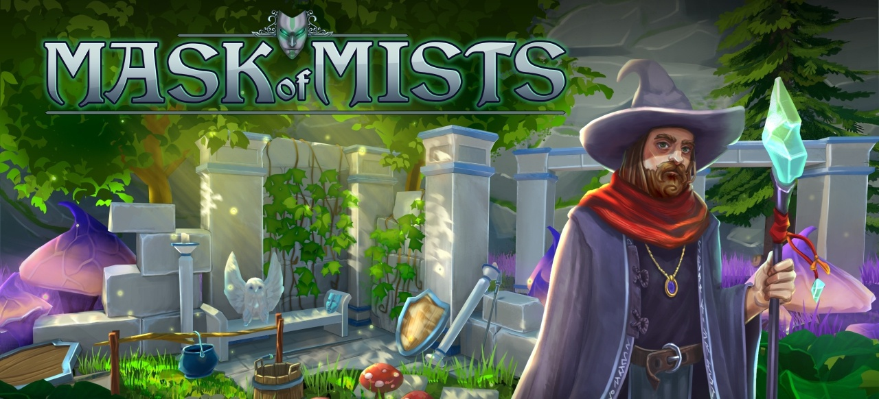 Mask of Mists (Action-Adventure) von 9 Eyes Game Studio / Stately Snail / Sometimes You