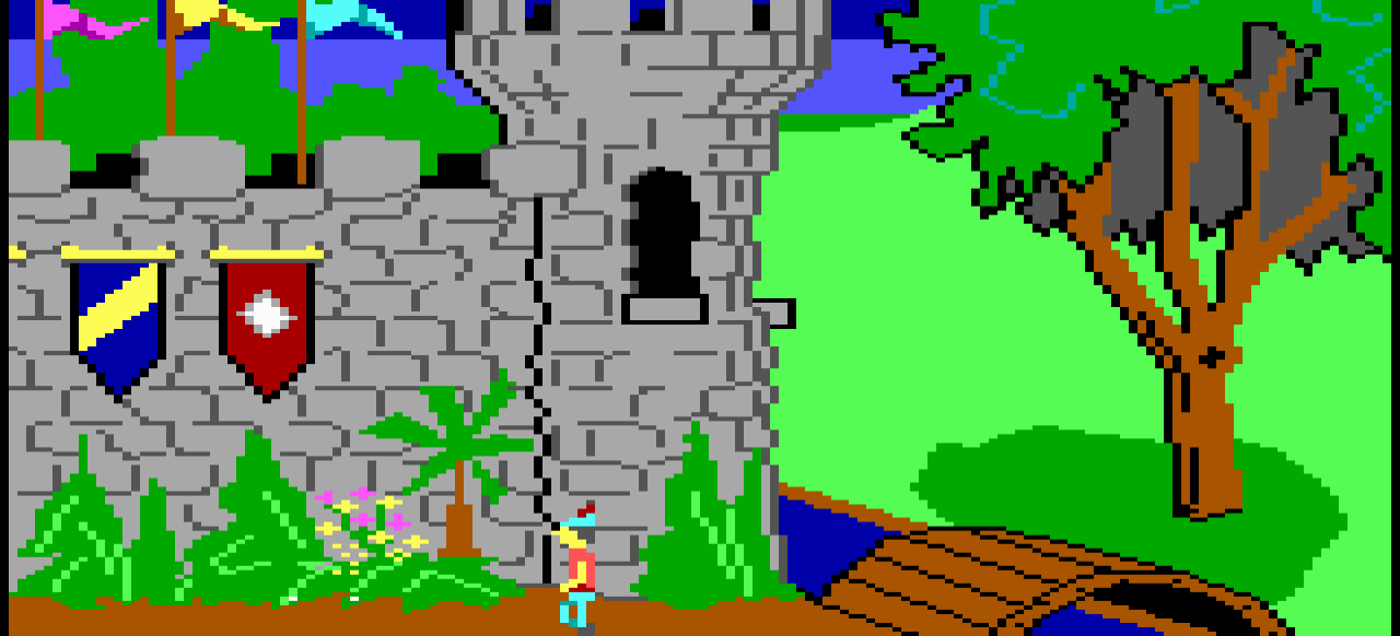 King's Quest: Quest for the Crown (Adventure) von Sierra On-Line
