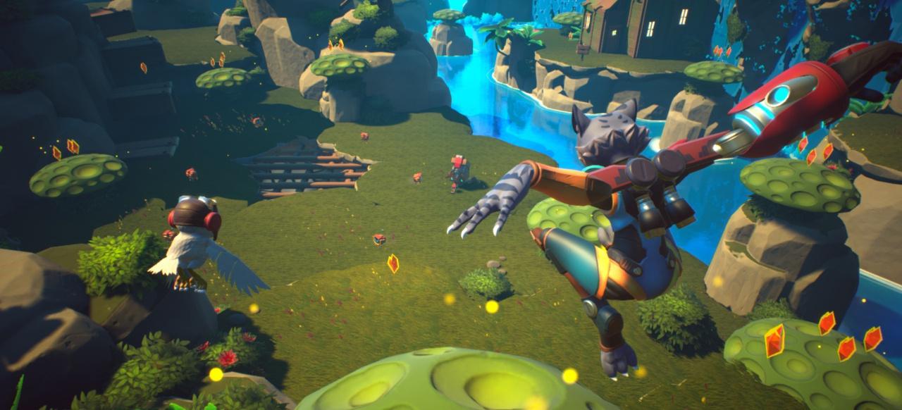 Skylar & Plux: Adventure on Clover Island (Plattformer) von Grip Digital