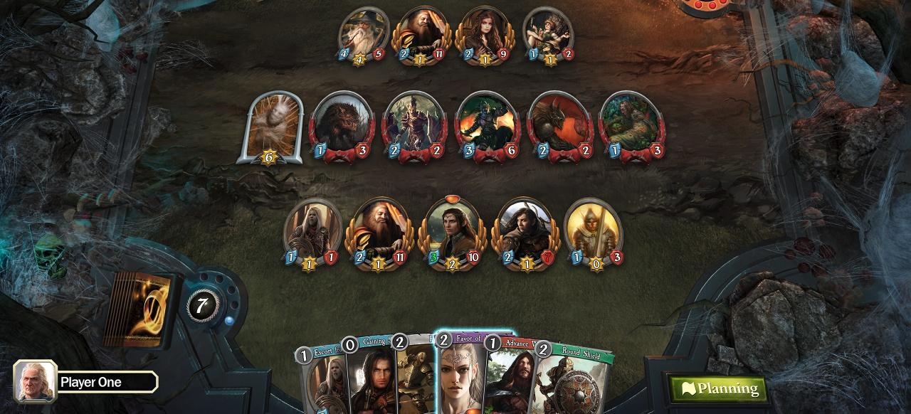 The Lord of the Rings: Adventure Card Game (Strategie) von Asmodee Digital