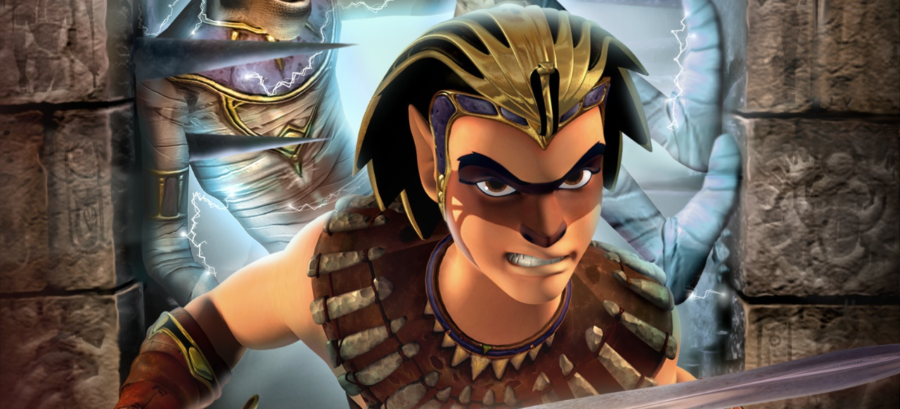 Sphinx und die verfluchte Mumie (Plattformer) von THQ