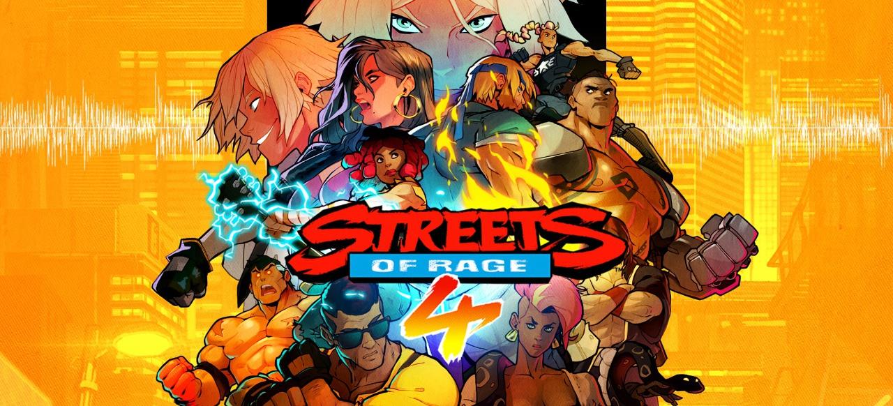 Streets of Rage 4 (Prügeln & Kämpfen) von Dotemu / Limited Run Games
