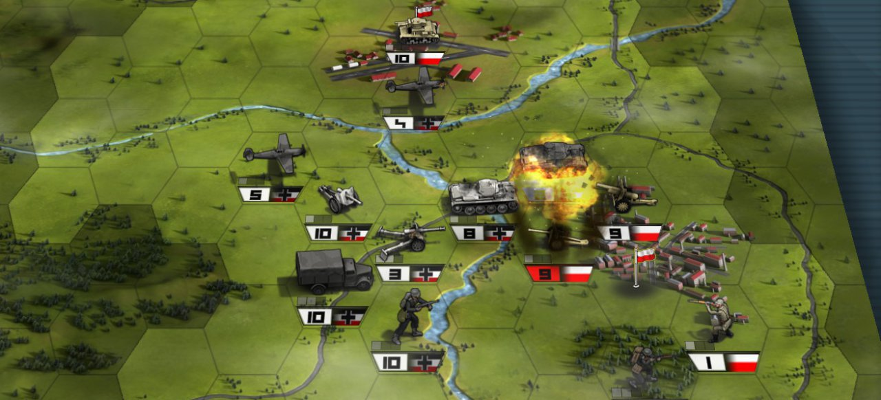 Panzer Tactics HD (Strategie) von bitComposer Games