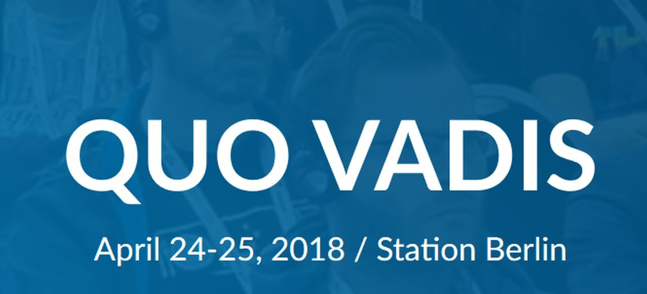 Quo Vadis 2018 (Events) von CMG Conferences