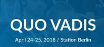 Quo Vadis 2018: Dan Hay, Simon Usiskin und Florian Busse sind dabei