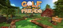 Golf With Your Friends: Kunterbuntes Arcade-Golf wird für Konsolen umgesetzt