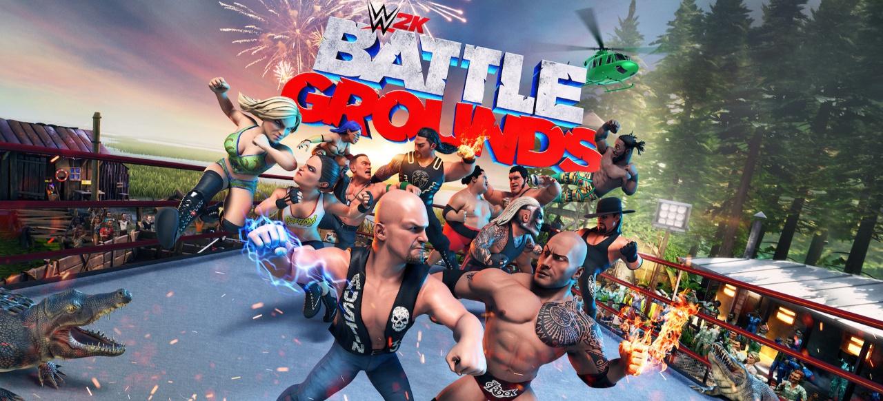 WWE 2K Battlegrounds (Arcade-Action) von 2K Games