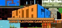 PlataGO! Super Platform Game Maker: Jump'n'Run-Baukasten auf PC und Switch gestartet
