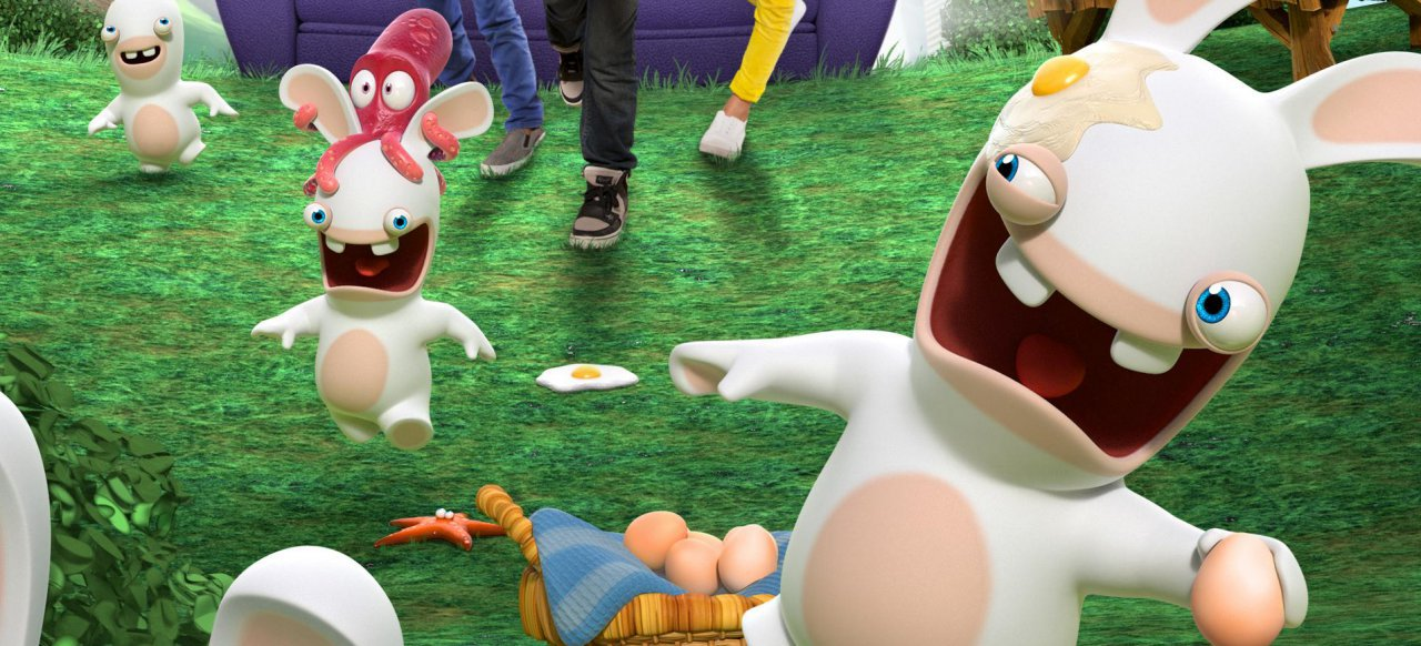 Rabbids Invasion: Die interaktive TV-Show (Musik & Party) von Ubisoft