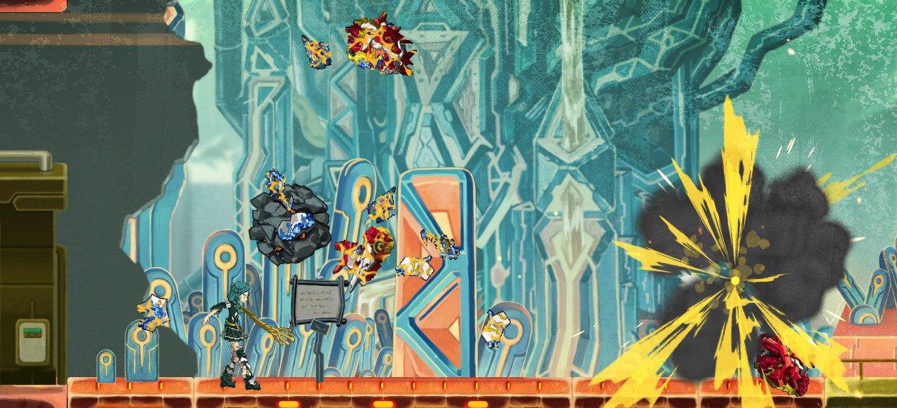 Giga Wrecker (Action-Adventure) von Game Freak / Rising Star Games / Limited Run Games