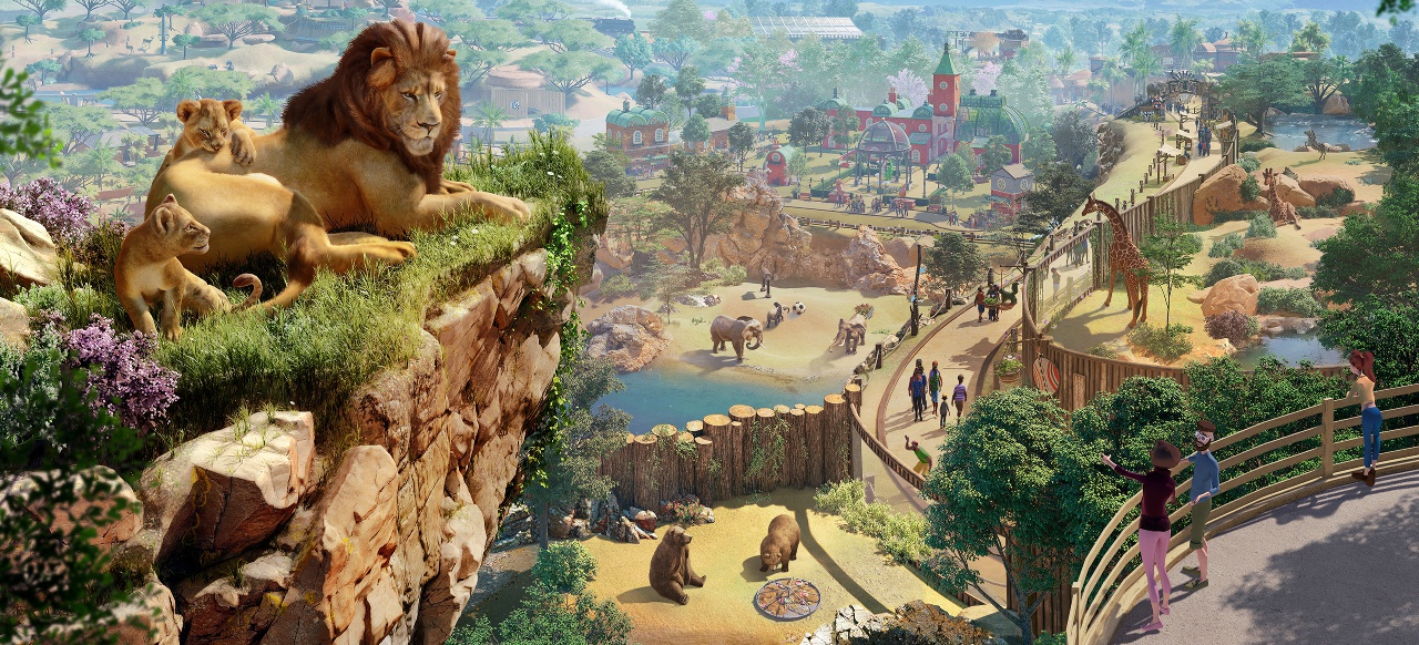 Planet Zoo (Strategie) von Frontier Developments
