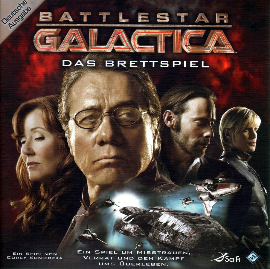Alle Infos zu Battlestar Galactica: Das Brettspiel (Spielkultur)