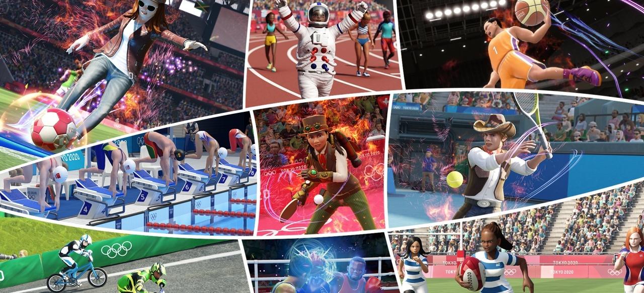 Olympische Spiele Tokyo 2020 - Das offizielle Videospiel (Sport) von Sega