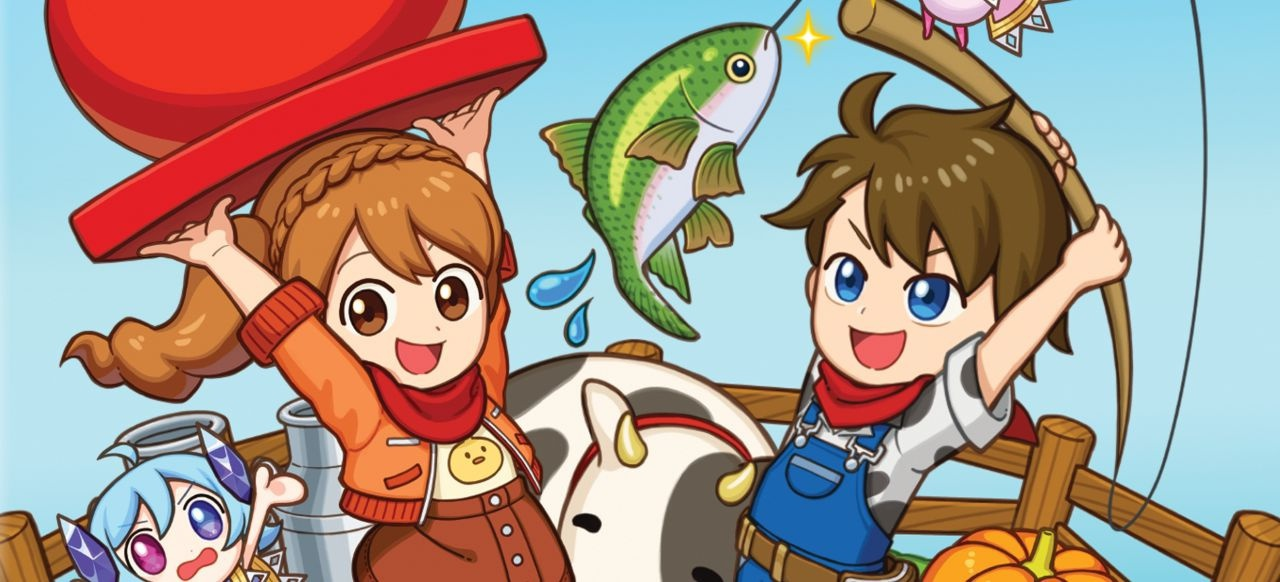 Harvest Moon: Mad Dash (Action) von Rising Star Games / Koch Media