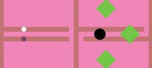 Kreis vs. Quadrat, der Shooter
