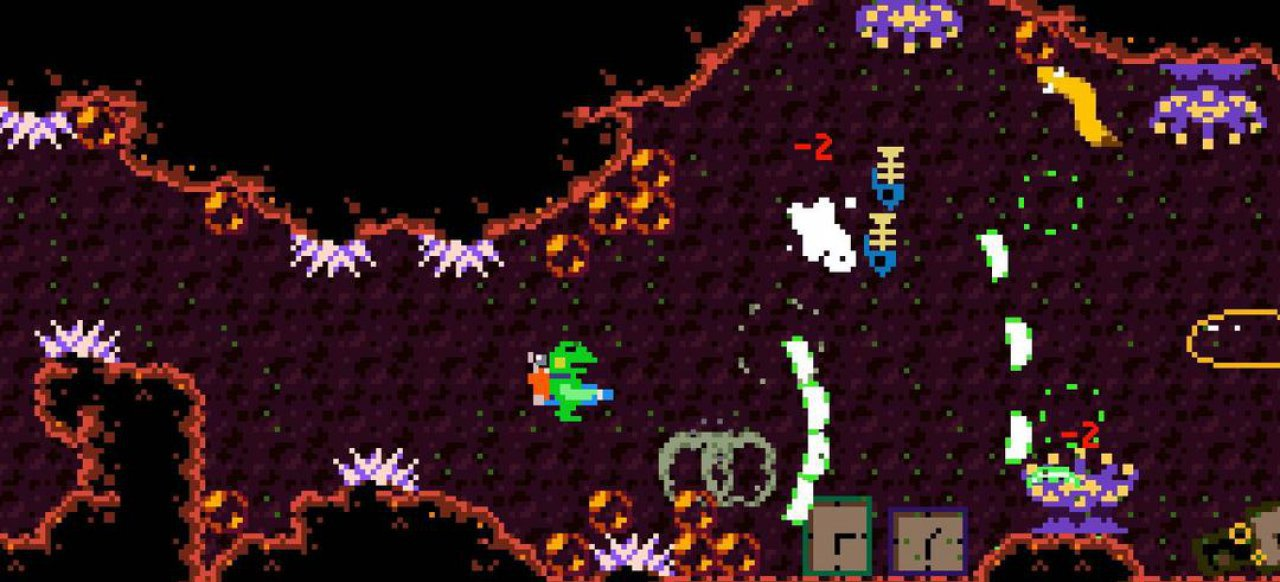 Kero Blaster (Arcade-Action) von Playism / Active Gaming Media