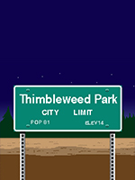 Alle Infos zu Thimbleweed Park (Android,iPad,iPhone,Linux,Mac,PC,PlayStation4,Switch,XboxOne)