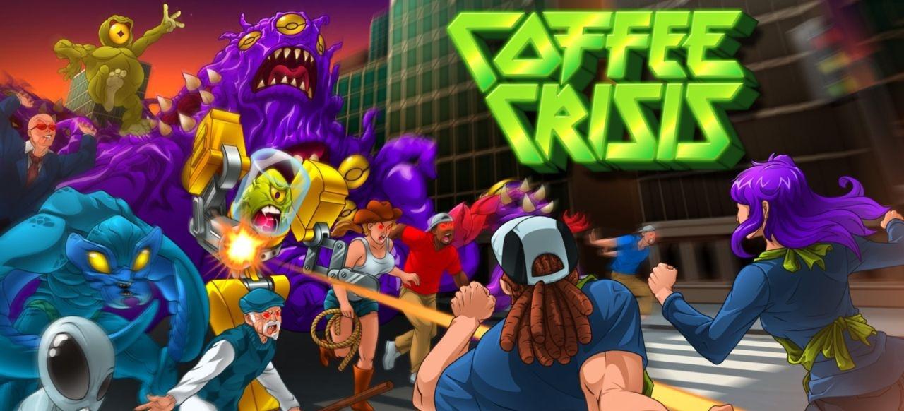 Coffee Crisis (Arcade-Action) von Mega Cat Studios / E360 Technologie / Qubic Games