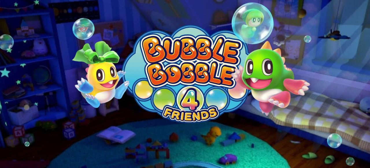 Bubble Bobble 4 Friends (Geschicklichkeit) von ININ Games / Strictly Limited Games