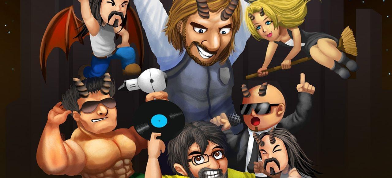 Ghosts'n DJs (Plattformer) von Dr. Kucho! Games