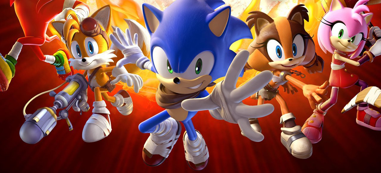 Sonic Boom: Feuer & Eis (Plattformer) von SEGA / Nintendo