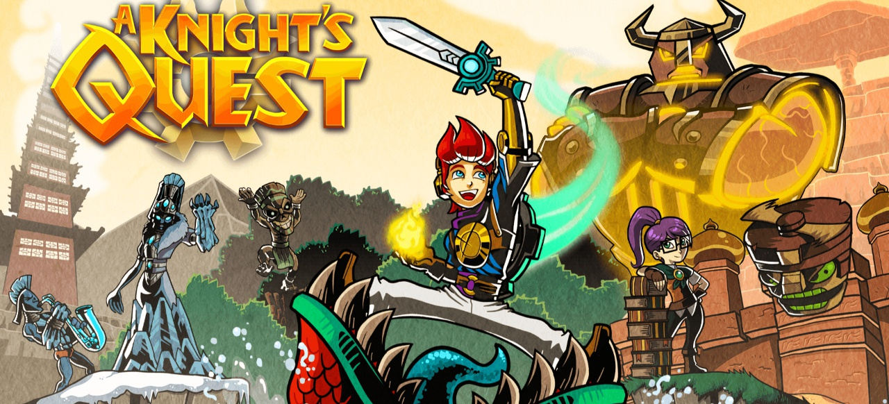 A Knight's Quest (Action-Adventure) von Curve Digital