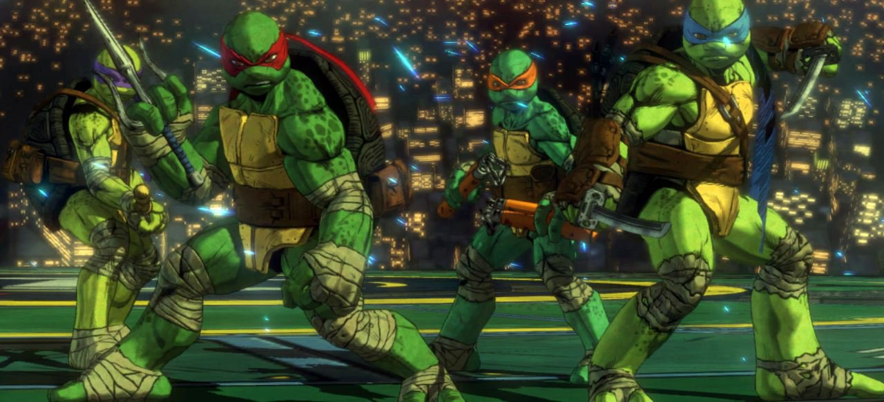 Teenage Mutant Ninja Turtles Mutanten In Manhattan Test Action
