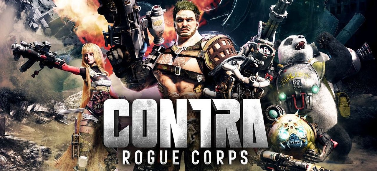 Contra: Rogue Corps (Arcade-Action) von Konami