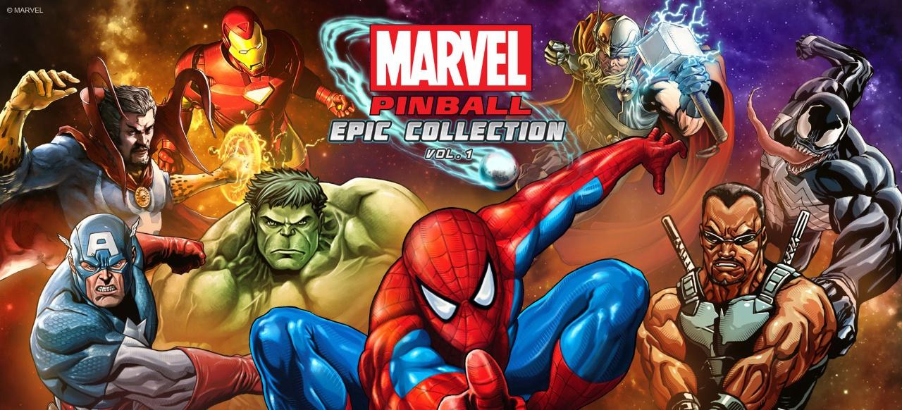 Marvel Pinball (Arcade-Action) von ZEN Studios
