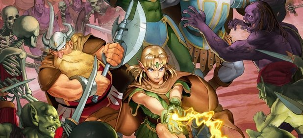 Dungeons & Dragons: Chronicles of Mystara (Arcade-Action) von Capcom