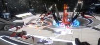 Curved Space: Arachnoide Arcade-Ballerei für PC, PS4, Xbox One und Switch angekündigt