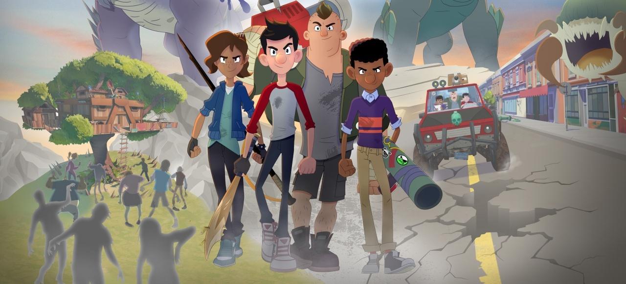 Jack, der Monsterschreck und der Stab der Verdammnis (Action-Adventure) von Outright Games