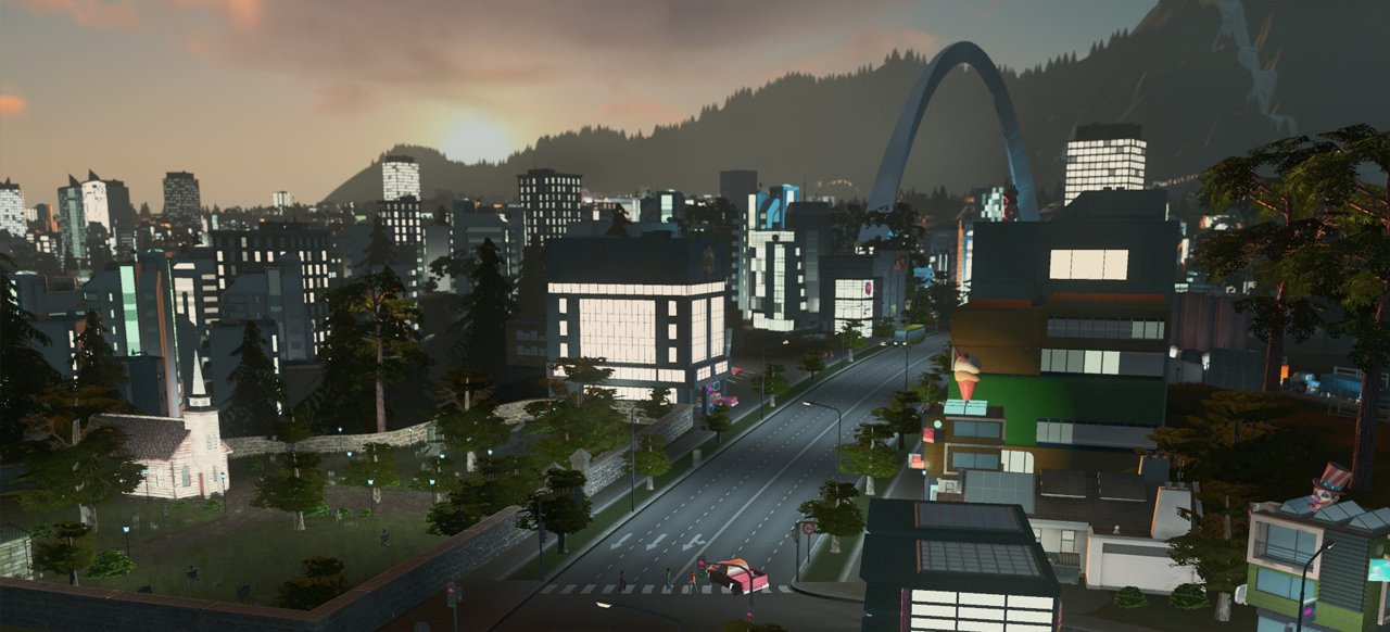 Cities: Skylines - After Dark (Taktik & Strategie) von Paradox
