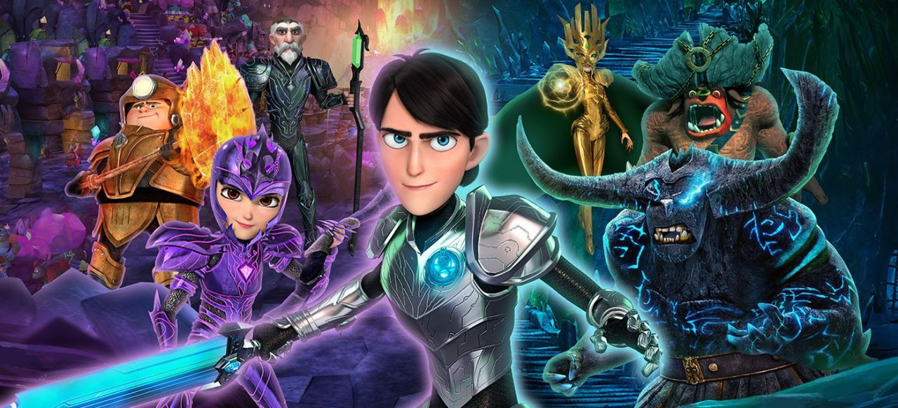 DreamWorks Trolljäger Verteidiger von Arcadia (Action-Adventure) von Outright Games / Universal Games & Digital Platforms / Bandai Namco Entertainment