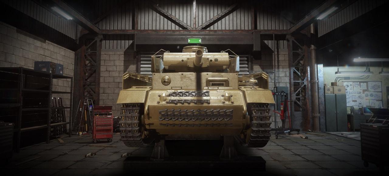 Tank Mechanic Simulator (Simulation) von DeGenerals / Ultimate Games / PlayWay