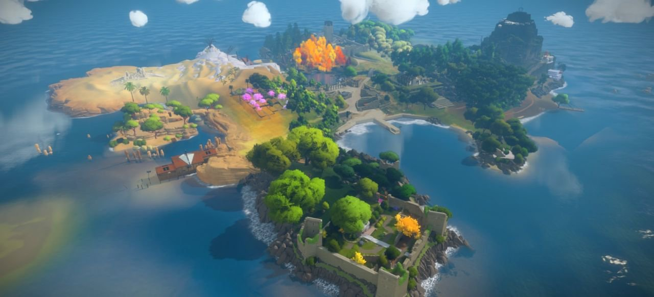 The Witness (Logik & Kreativität) von Sony / Thekla Inc.