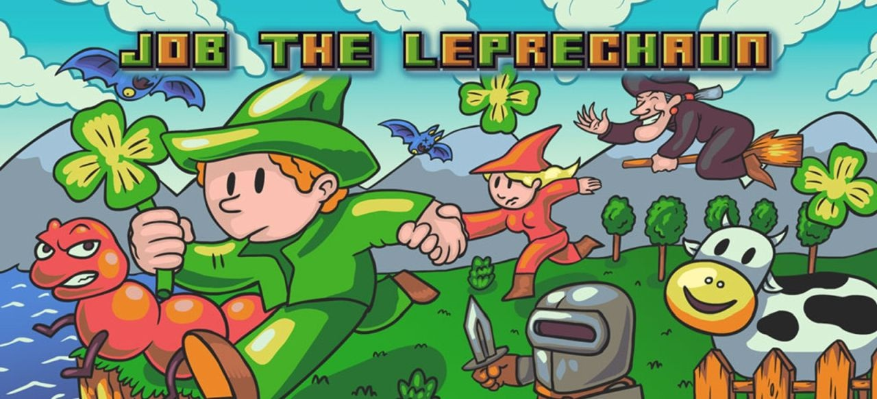 Job the Leprechaun (Plattformer) von Herrero Games