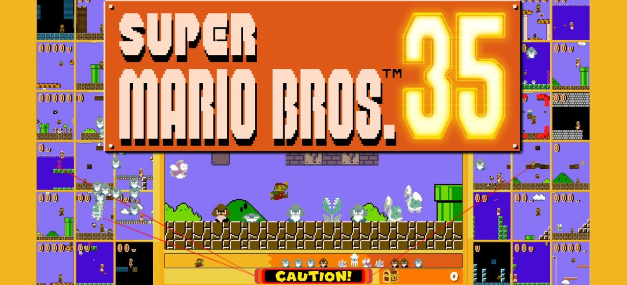 Super Mario Bros. 35 (Plattformer) von Nintendo