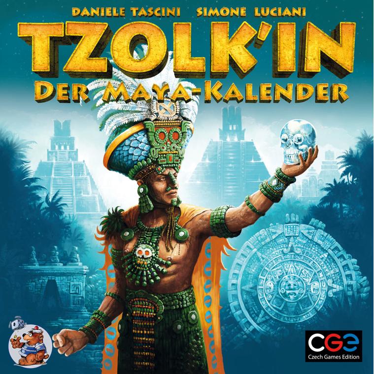 Alle Infos zu Tzolk'in: Der Maya-Kalender (Spielkultur)